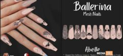 Ballerina Nails Abeille – NEW