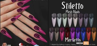 Stiletto Nails Merletto – SALE