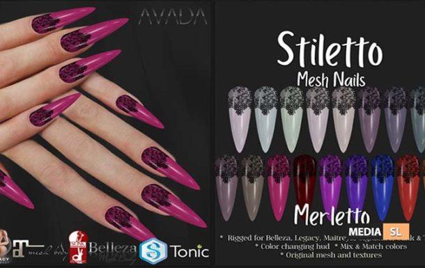 Stiletto Nails Merletto – SALE
