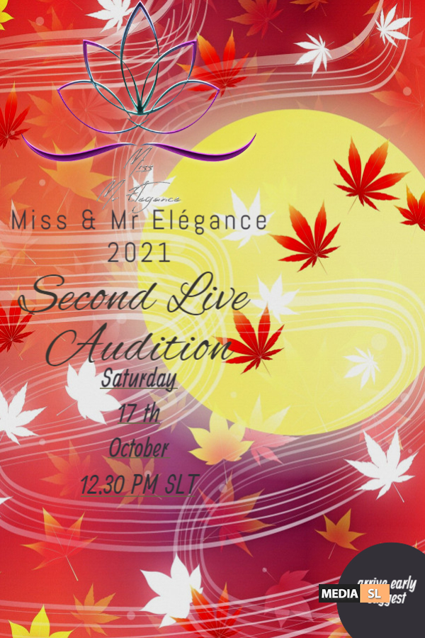 miss and mr elegance 2021 second audition – SHOW