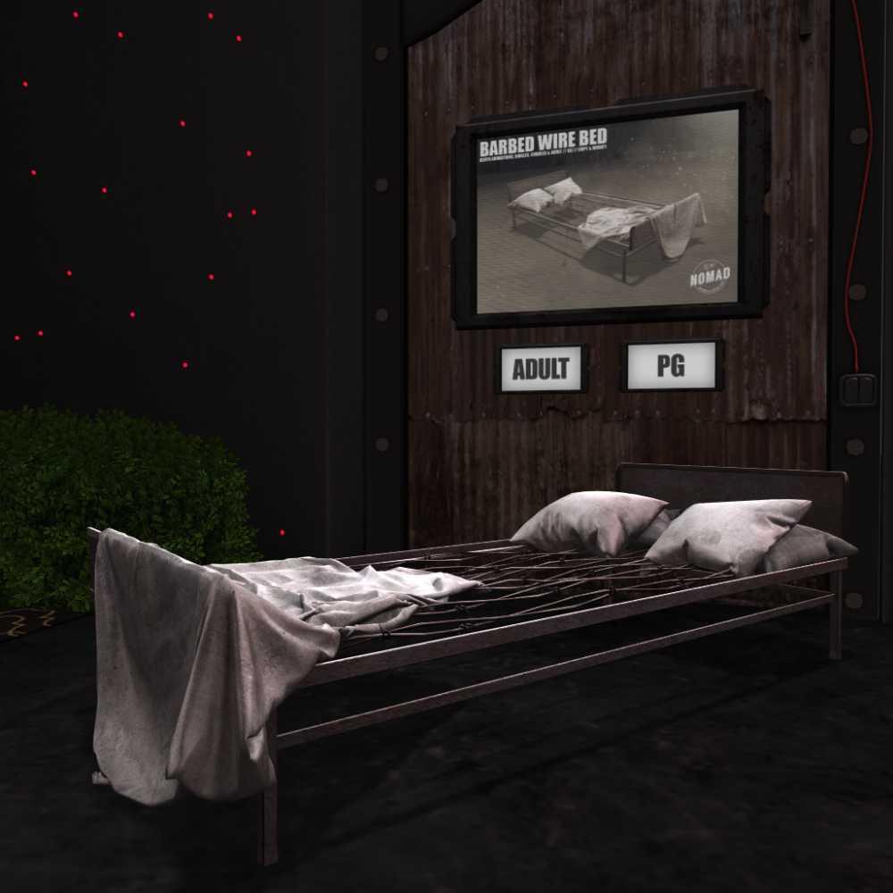 Bed frame kinky A 6